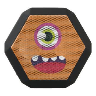 Lustiges einäugiges niedliches Monster Schwarze Bluetooth Lautsprecher