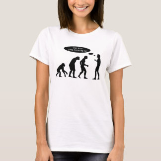 Lustiges Evolutions-Shirt T-Shirt