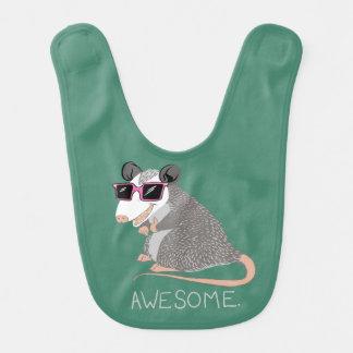 Lustiges fantastisches Opossum Lätzchen