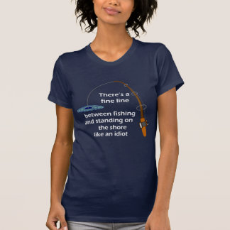 Lustiges Fischen-Shirt T-Shirt