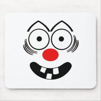 Lustiges Gesicht Mousepads