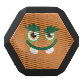 Lustiges Grün-Mit Augen niedliches Monster Schwarze Bluetooth Lautsprecher