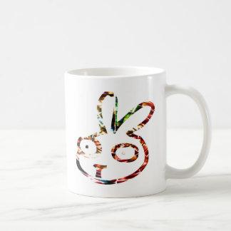 Lustiges Häschen Kaffeetasse