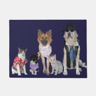 Lustiges Haustier-freundlicher Ausschuss Türmatte