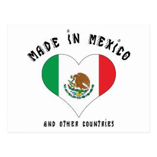 Lustiges hergestellt in Mexiko Postkarte