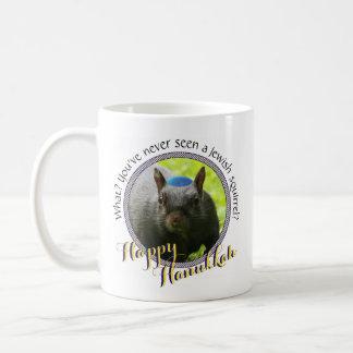Lustiges jüdisches Eichhörnchen • Glückliches Tasse