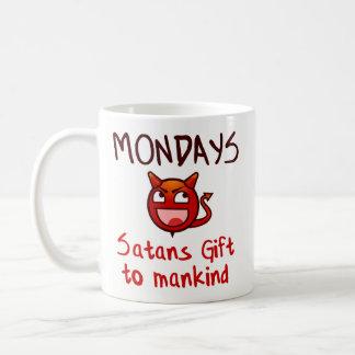 Lustiges Kaffee-Tassen-Geschenk - Montage, Satans Kaffeetasse