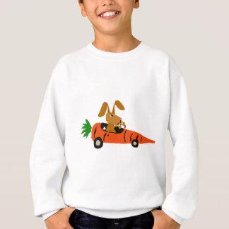 Lustiges Kaninchen des Häschen-TA, das Sweatshirt