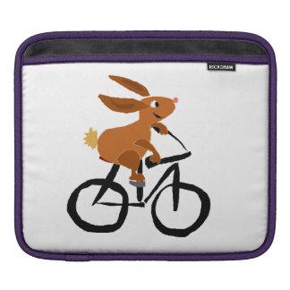 Lustiges Kaninchen-Reitfahrrad Sleeves Für iPads