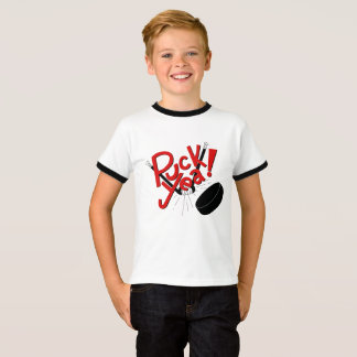 Lustiges Kinderhockey-Shirt T-Shirt
