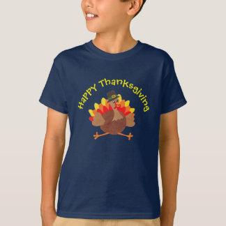 """Lustiges kleines """"glücklicher Erntedank-"""" - T-Shirt"""