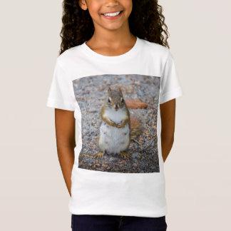 Lustiges kleines stehendes Eichhörnchen T-Shirt