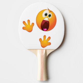 lustiges Klingeln Pong Paddel Tischtennis Schläger