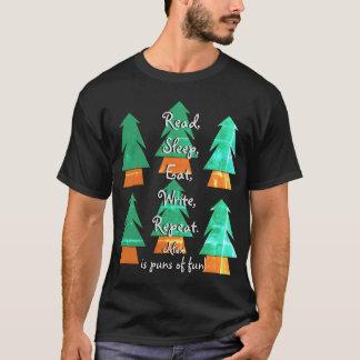 Lustiges kundenspezifisches Wortspiel-Geschenk für T-Shirt