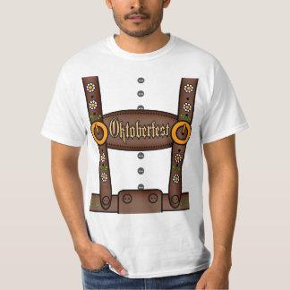 Lustiges Lederhosen Oktoberfest Shirt