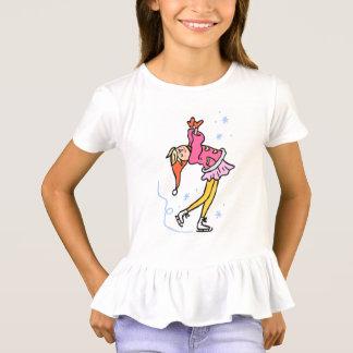 lustiges MädchenkinderCartooneis T-Shirt