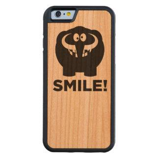 Lustiges Mammutleben Bumper iPhone 6 Hülle Kirsche