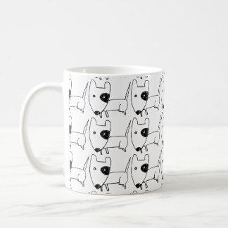 Lustiges niedliches Hündchen Tasse