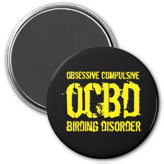 Lustiges OCBD (besessene zwingende Runder Magnet 7,6 Cm