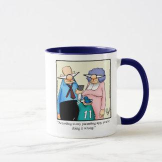 Lustiges Parenting-Spaß-Tassen-Geschenk Tasse