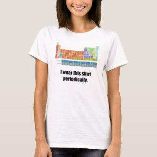 Lustiges periodisches Shirt