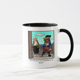 Lustiges Piraten-Spaß-Tassen-Geschenk Tasse