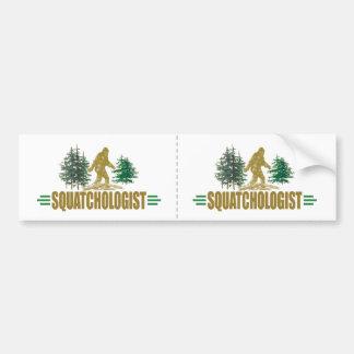 Lustiges Sasquatch | großer Fuß | glauben! Autoaufkleber