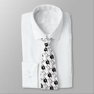 """Lustiges """"Schwarzes ein weißes Lamm"""" Krawatte"""