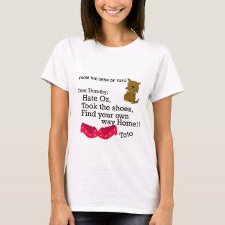 Lustiges Shirt Dorothy Zauberer von Oz