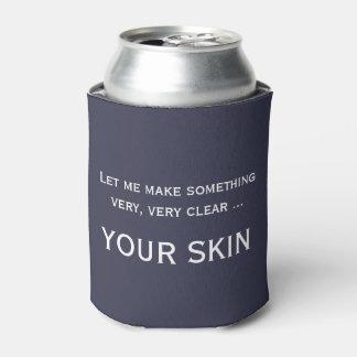 Lustiges skincare Esthetician-Dermatologe cozie Dosenkühler