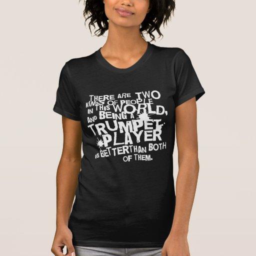 Lustiges Trompete-Witz-Musik-Geschenk T-shirt