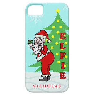 Lustiges Weihnachten Sankt Elfie personalisiert Schutzhülle Fürs iPhone 5