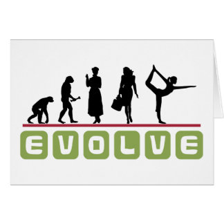 Lustiges Yoga-Geschenk Grußkarte