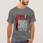 Lustiges Zombie-Apokalypsegrunge-T-Shirt für T-Shirt