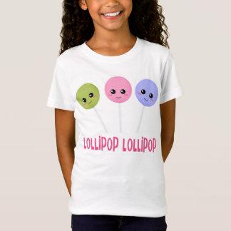 Lutscher-Lutscher-Grün-Rosa lila Kawaii Art T-Shirt
