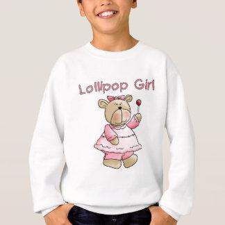 Lutscher-Mädchen-T-Shirts und Geschenke Sweatshirt