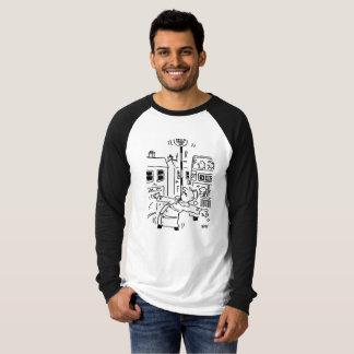 Lutscher-Mann-Balanceakt mit Lutscher T-Shirt