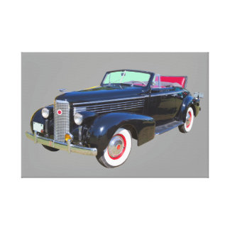 Luxus Cadillacs Lasalle Auto 1938 Leinwanddruck