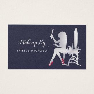 Luxus-IMITAT silberne Visitenkarte