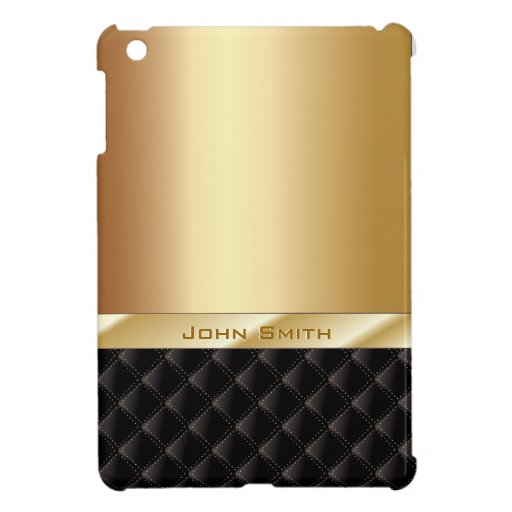 Luxusgold mit individueller Name iPad Minifall iPad Mini Etuis