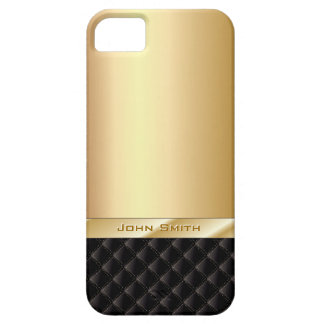 Luxusgold mit individueller Name iPhone 5 Fall Barely There iPhone 5 Hülle