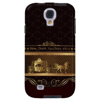 Luxuskasten Hochzeits-goldener Samsung-Galaxie-S4 Galaxy S4 Hülle