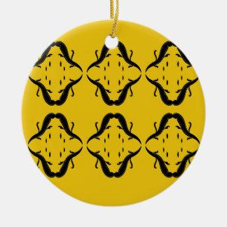 LuxusMandalas. T - Shirtgeschäft Rundes Keramik Ornament