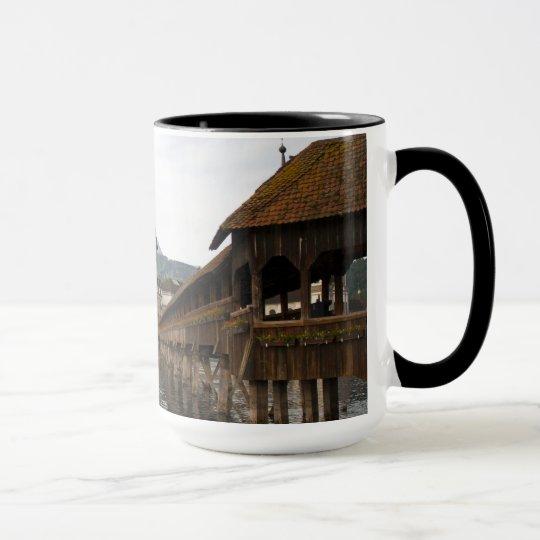 Luzern Kappelbrücke Kaffeetasse
