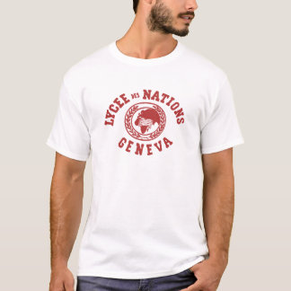 Lycée DES-Nations-Vintager T - Shirt (WEISS)