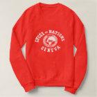 Lycée DES-Nations-Vintages Sweatshirt (ROT)