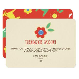 Lycka bis danken Ihnen 8,9 X 12,7 Cm Einladungskarte