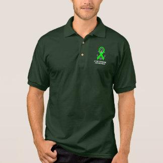 Lyme-Borreliose-Anker der Hoffnung Poloshirt