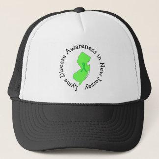 Lyme-Borreliose-Bewusstsein im New-Jersey Band-Hut Baseball Mützen