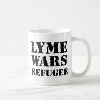 Lyme kämpft Flüchtling Kaffeetasse
